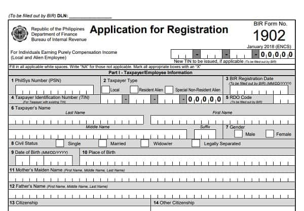bir form 1902 sample