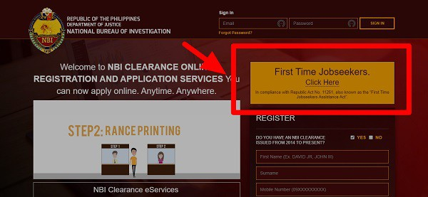 nbi clearance for fresh graduates free 1