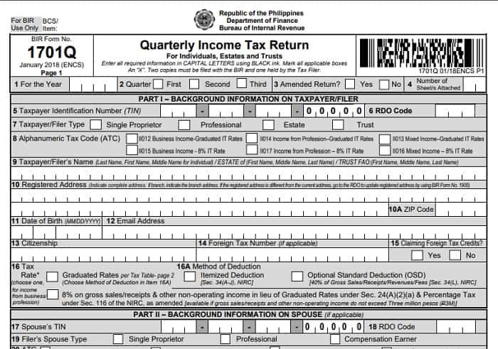 income tax return 6