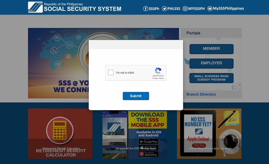 how to check sss contribution online 1