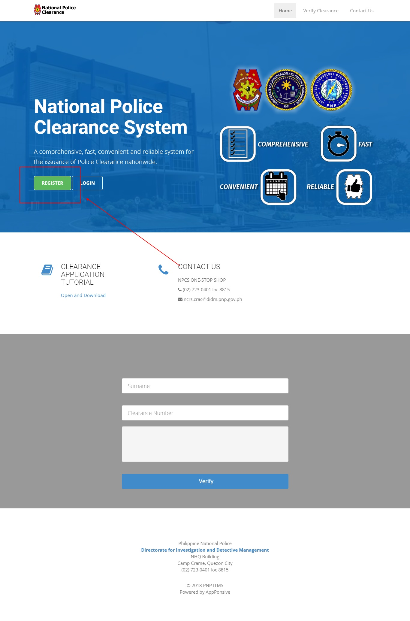 how to get police clearance online in the philippines 1