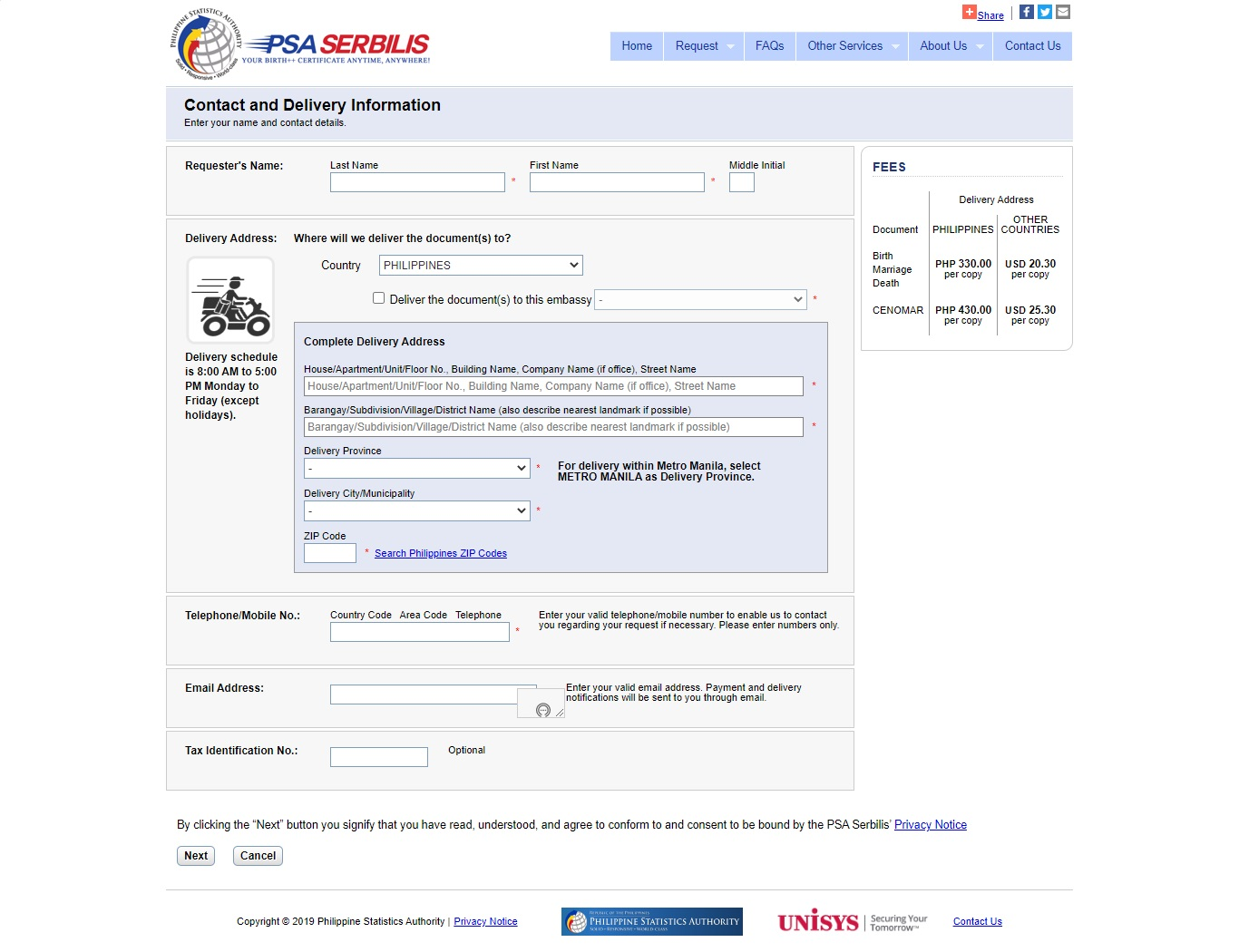 how to get psa birth certificate online in the philippines 2