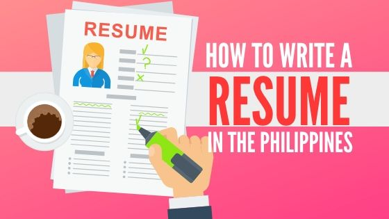 Resume Sample Philippines Free Templates For Every Profession