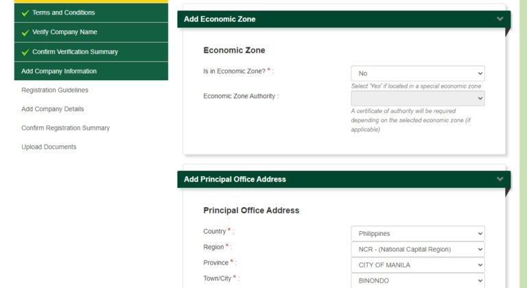 SEC Online Registration of Business Name: An Ultimate Guide