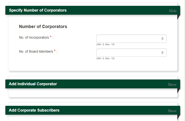 sec registration for domestic stock corporation 16