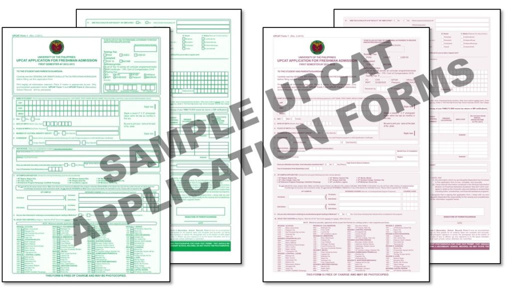 how to apply upcat 1