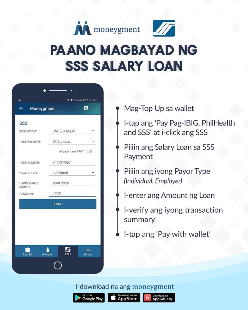 how to pay sss salary loan online 4