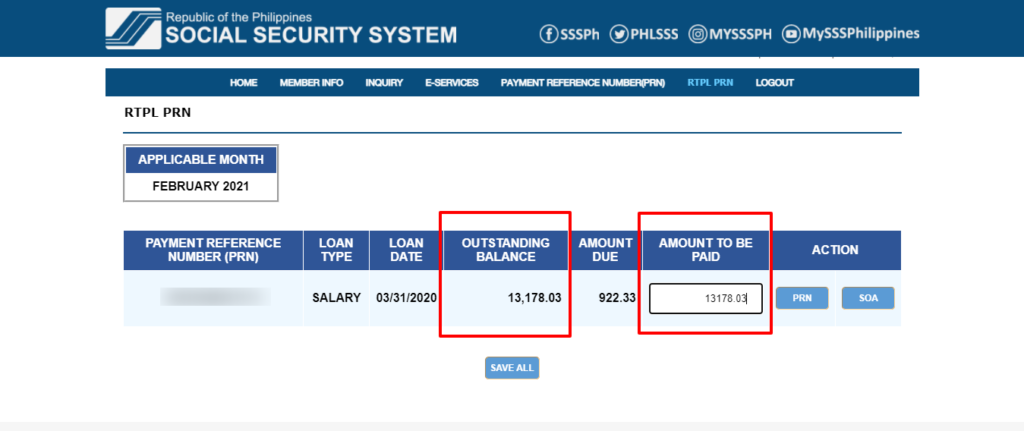 how to pay sss salary loan online 5