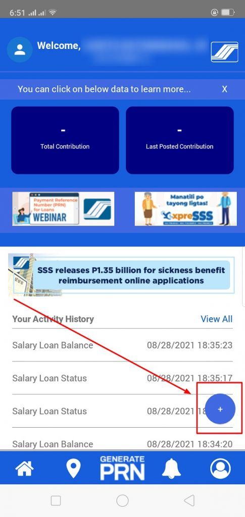 how to check salary loan balance in sss 3