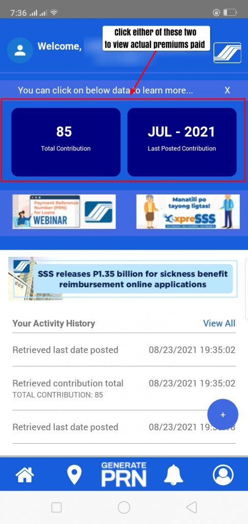 how to check sss contribution online 7