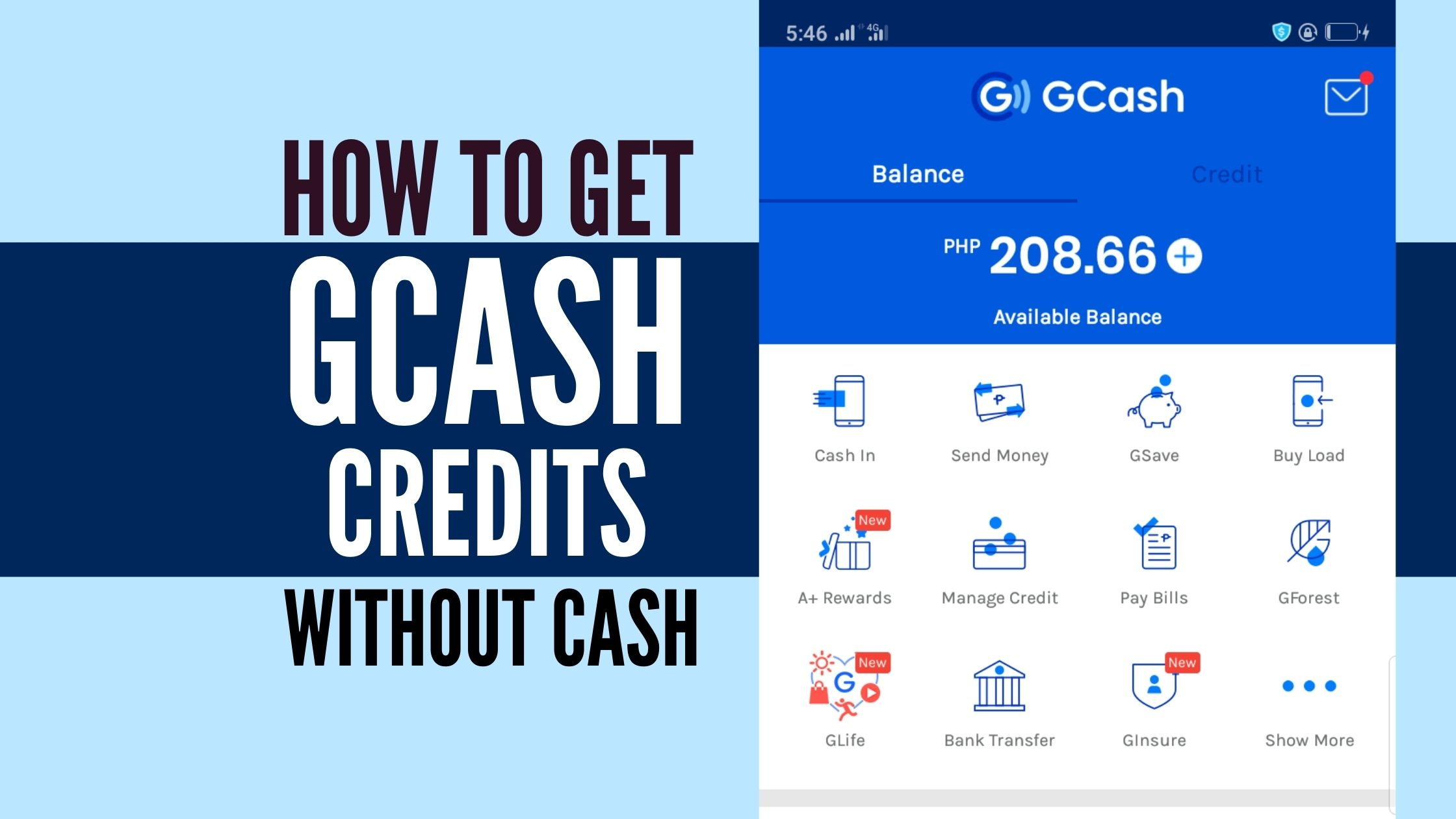 how to convert load to gcash