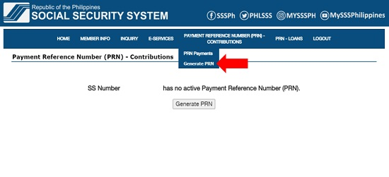 how to get sss prn number 9