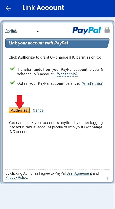 how to link paypal to gcash 5