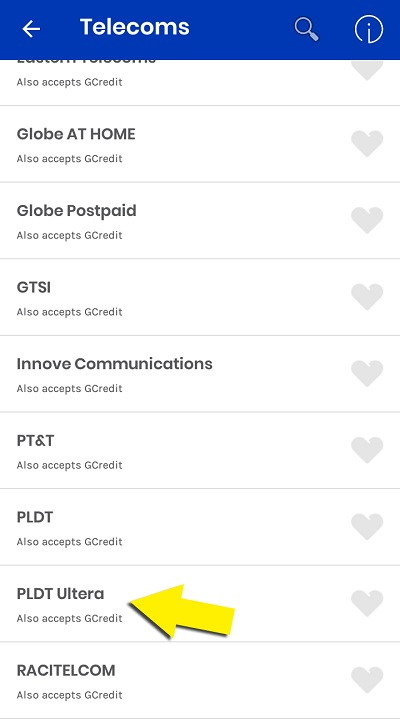 how to pay pldt using gcash 7