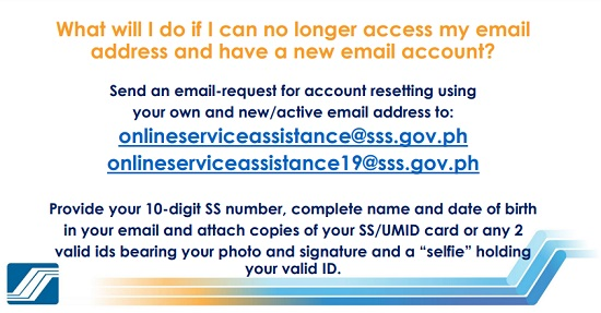 how to unlock sss account without email 1