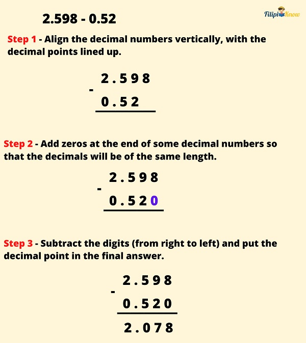 operations on fractions and decimals 25